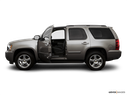 2008 Chevrolet Tahoe Driver's side profile with drivers side door open