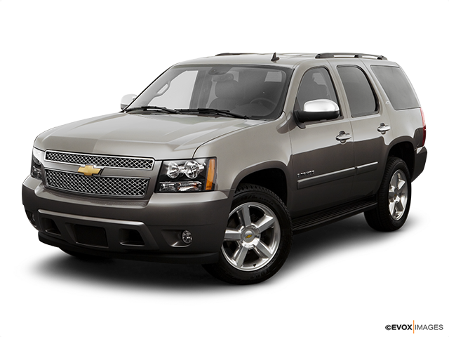 2008 Chevrolet Tahoe Front angle view