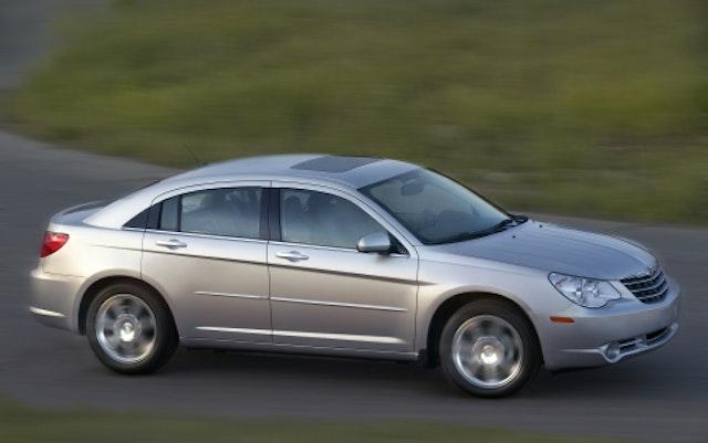 2008 Chrysler Sebring Exterior