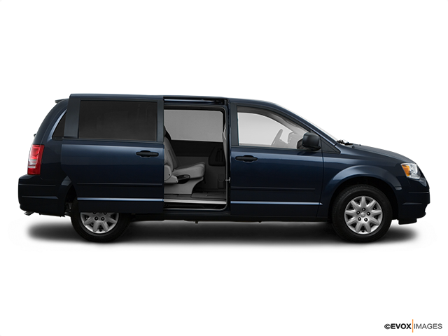 2008 Chrysler Town and Country Passenger's side view, sliding door open (vans only)