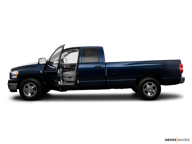 2008 Dodge Ram Pickup 2500 Driver's side profile with drivers side door open