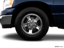 2008 Dodge Ram Pickup 2500 Front Drivers side wheel at profile