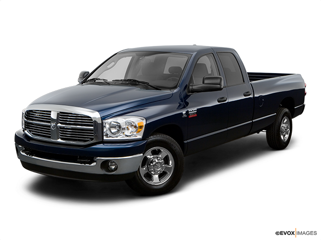 2008 Dodge Ram Pickup 2500 Front angle view