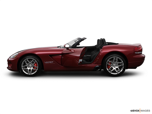 2008 Dodge Viper Driver's side profile with drivers side door open