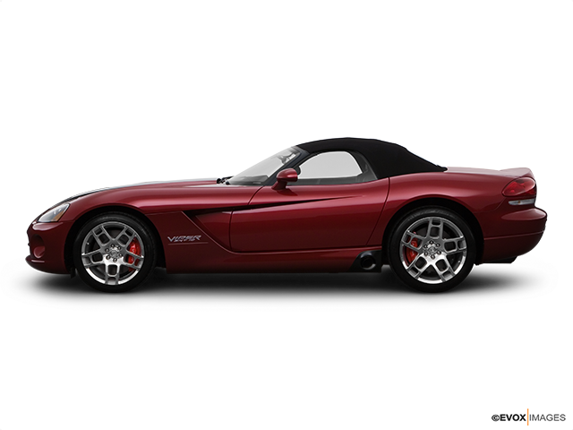 2008 Dodge Viper Drivers side profile, convertible top up (convertibles only)
