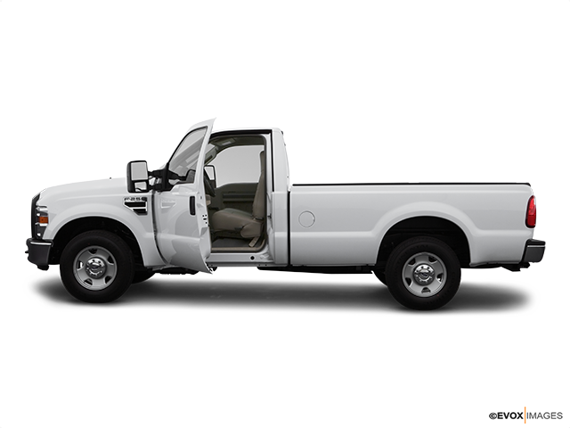 2008 Ford F-250 Super Duty Driver's side profile with drivers side door open