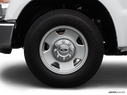 2008 Ford F-250 Super Duty Front Drivers side wheel at profile