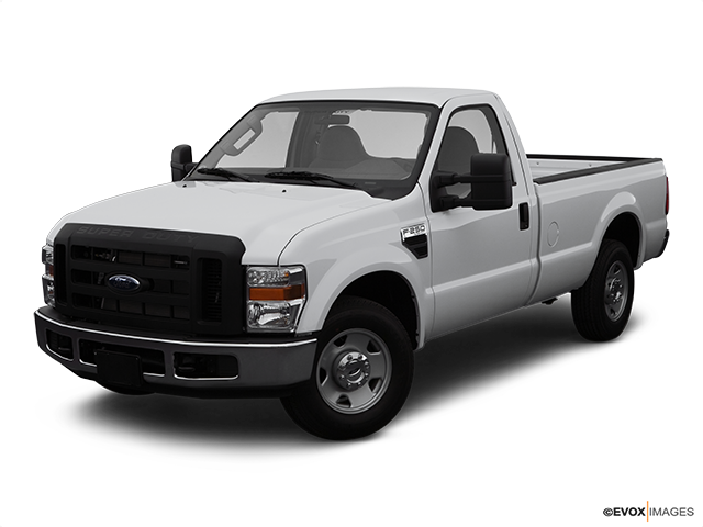 2008 Ford F-250 Super Duty Front angle view