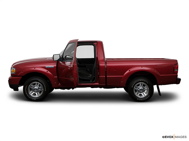 2008 Ford Ranger Driver's side profile with drivers side door open