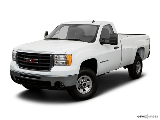 2008 GMC Sierra 3500HD Front angle view