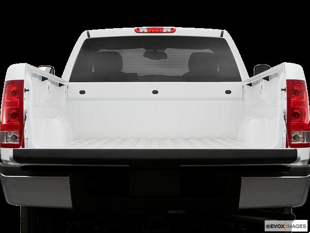 2008 GMC Sierra 3500HD Trunk open