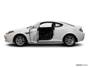 2008 Hyundai Tiburon Driver's side profile with drivers side door open