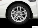 2008 Hyundai Tiburon Front Drivers side wheel at profile