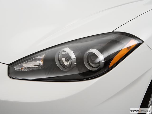 2008 Hyundai Tiburon Drivers Side Headlight