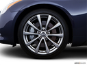2008 INFINITI G37 Front Drivers side wheel at profile