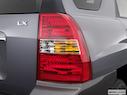 2008 Kia Sportage Passenger Side Taillight