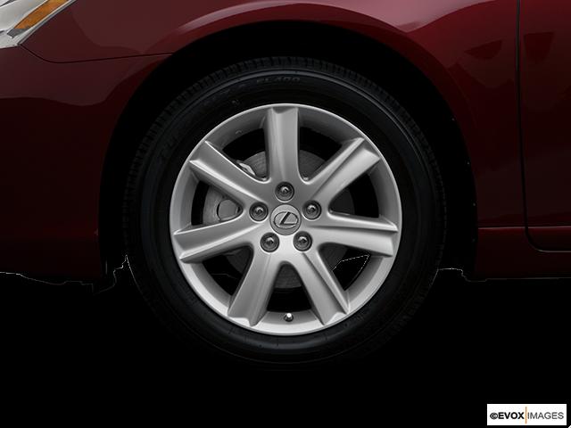 2008 Lexus ES 350 Front Drivers side wheel at profile