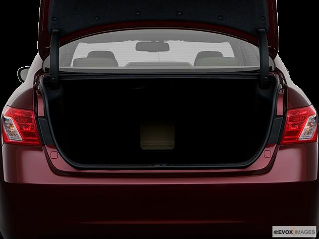 2008 Lexus ES 350 Trunk open