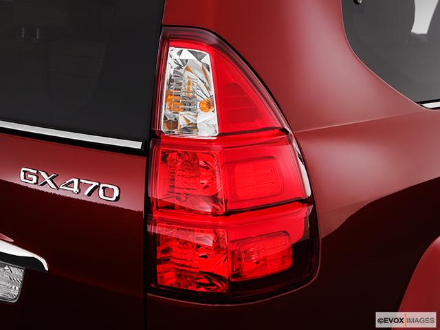 2008 Lexus GX 470 Passenger Side Taillight