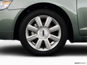 2008 Lincoln MKZ Front Drivers side wheel at profile