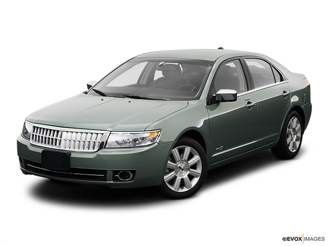 2008 Lincoln MKZ Front angle view