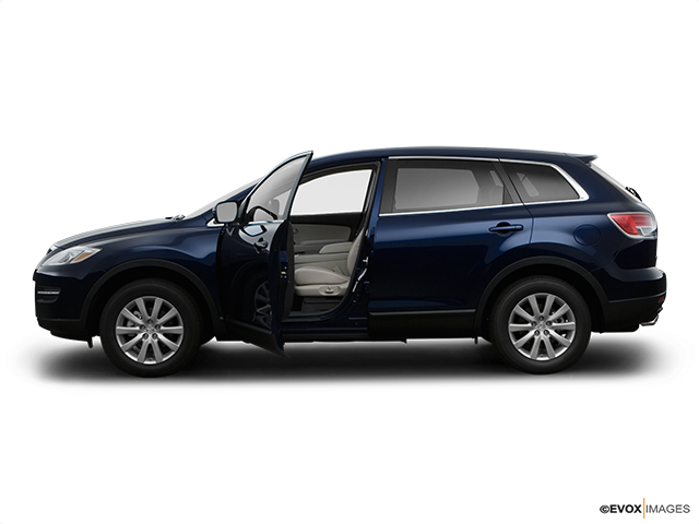 2008 Mazda CX-9 Driver's side profile with drivers side door open