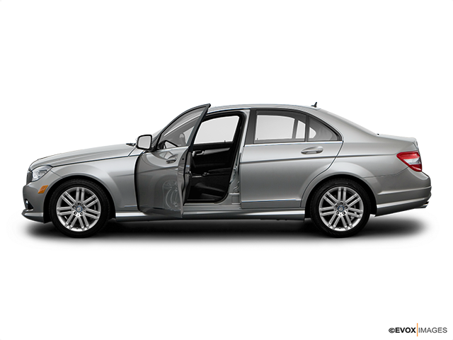 2008 Mercedes-Benz C-Class Driver's side profile with drivers side door open