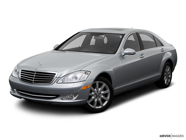 2008 Mercedes-Benz S-Class Front angle view