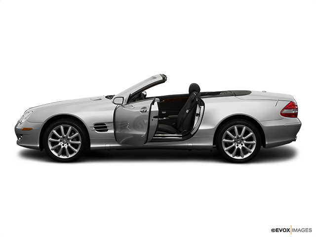 2008 Mercedes-Benz SL-Class Driver's side profile with drivers side door open