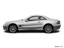2008 Mercedes-Benz SL-Class Drivers side profile, convertible top up (convertibles only)