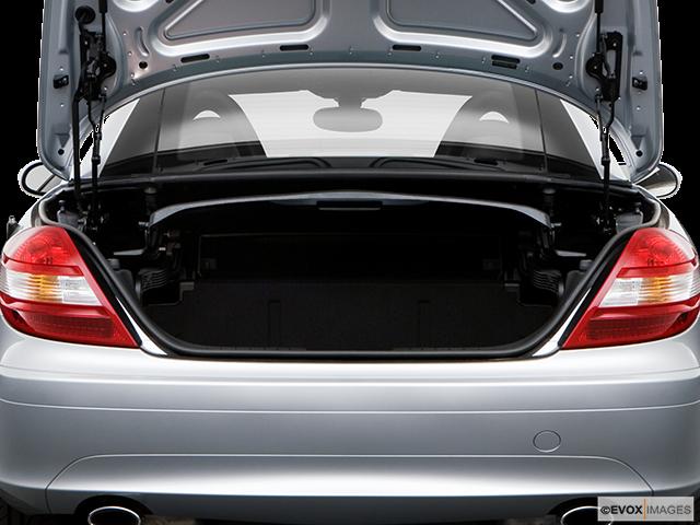2008 Mercedes-Benz SLK Trunk open