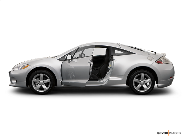 2008 Mitsubishi Eclipse Driver's side profile with drivers side door open