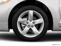 2008 Mitsubishi Eclipse Front Drivers side wheel at profile