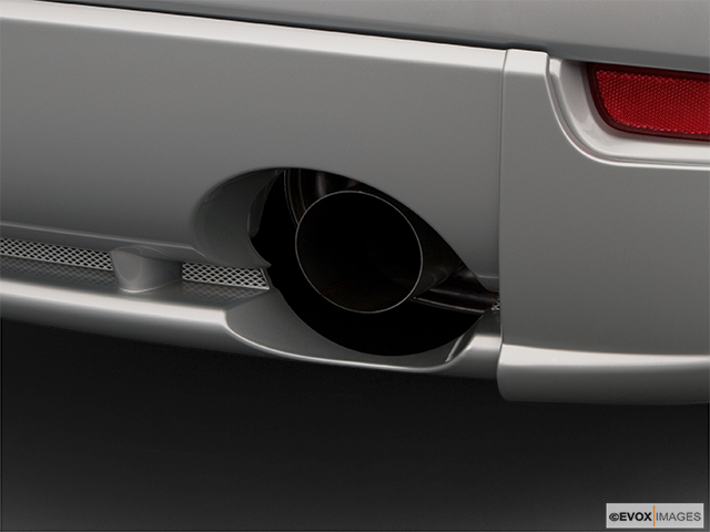 2008 Mitsubishi Eclipse Chrome tip exhaust pipe