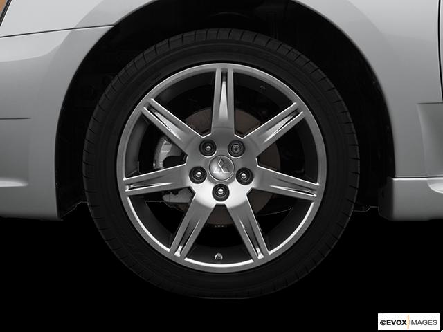 2008 Mitsubishi Galant Front Drivers side wheel at profile