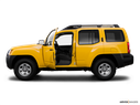2008 Nissan Xterra Driver's side profile with drivers side door open