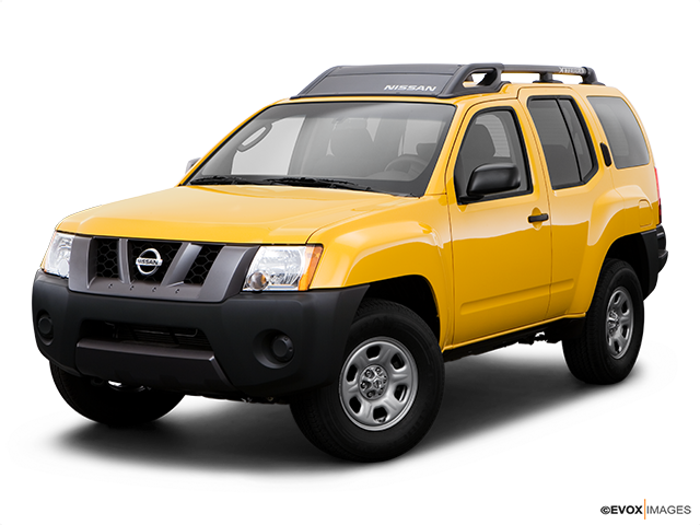 2008 Nissan Xterra Front angle view