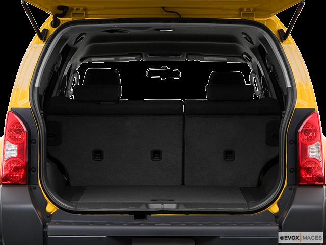 2008 Nissan Xterra Trunk open