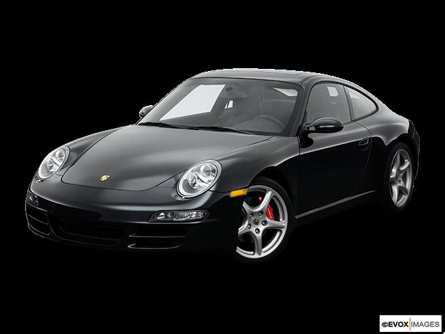 2008 Porsche 911 Front angle view