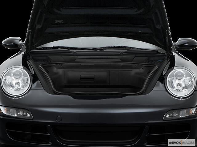2008 Porsche 911 Trunk open