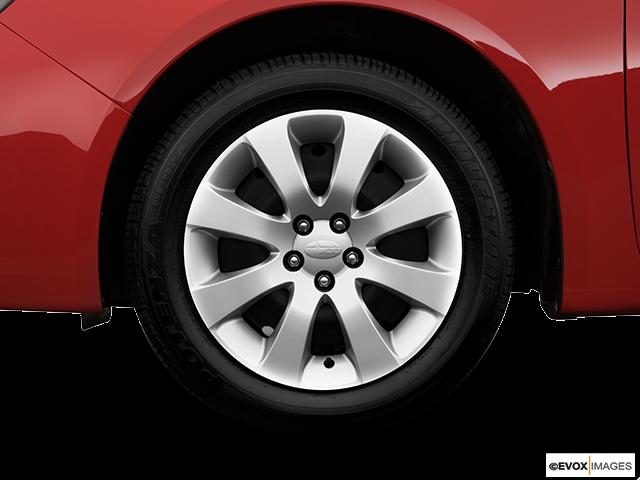 2008 Subaru Impreza Front Drivers side wheel at profile