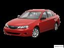 2008 Subaru Impreza Front angle view