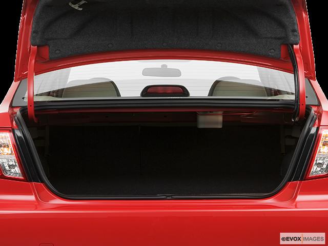 2008 Subaru Impreza Trunk open