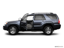 2008 Toyota 4Runner Driver's side profile with drivers side door open