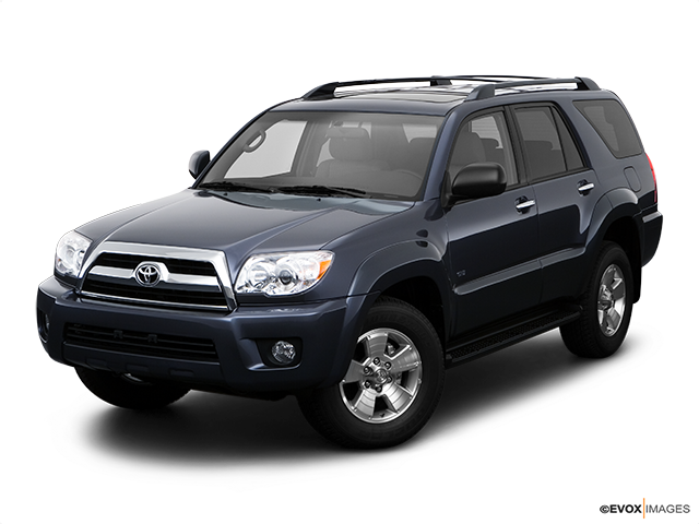 2008 Toyota 4Runner Front angle view
