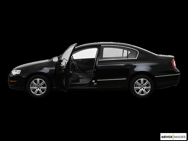 2008 Volkswagen Passat Driver's side profile with drivers side door open
