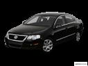 2008 Volkswagen Passat Front angle view