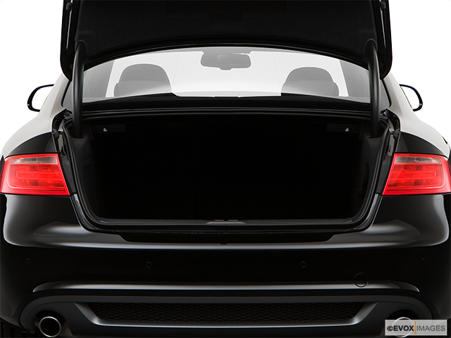 2009 Audi A5 Trunk open