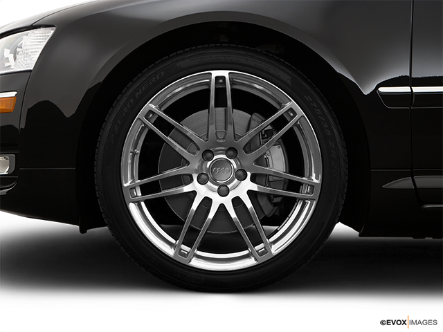 2009 Audi A8 Front Drivers side wheel at profile
