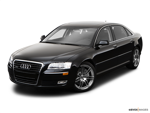 2009 Audi A8 Front angle view